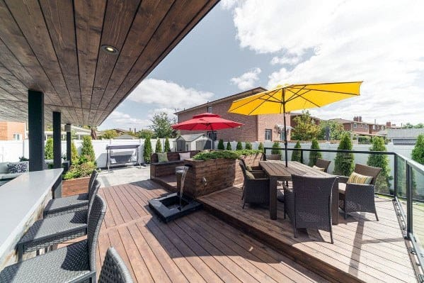 Unique Modern Deck