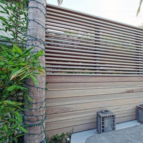 Unique Modern Fence Home Ideas