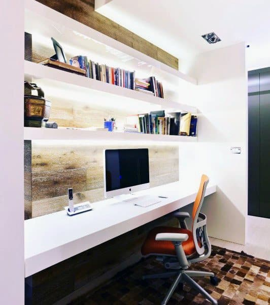 The 18 Best Home Office Design Ideas With Photos: Top 70 Best Modern Home Office Design Ideas
