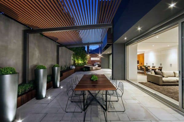 Simple Front Yard Landscaping Modern