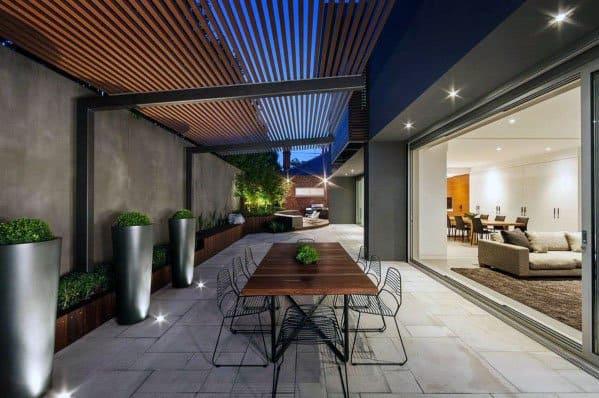 Unique Modern Patio Designs - Top 70 Best Modern Patio Ideas - Contemporary Outdoor Designs