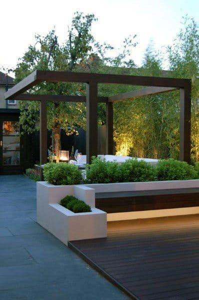 Top 70 Best Modern Patio Ideas - Contemporary Outdoor Designs on Home Backyard Ideas id=14323