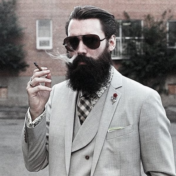 Unique Nice Mens Beard Styles