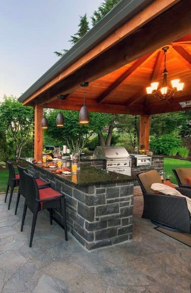 Unique Outdoor Bar Ideas