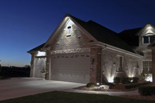 50 Outdoor Garage Lighting Ideas