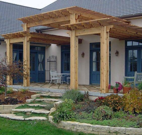 Unique Outdoor Pergola Designs