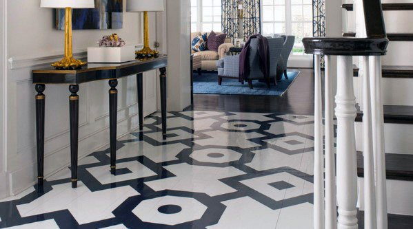 Unique Painted Floor Designs