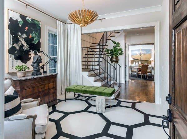 Unique Painted Floor Home Ideas