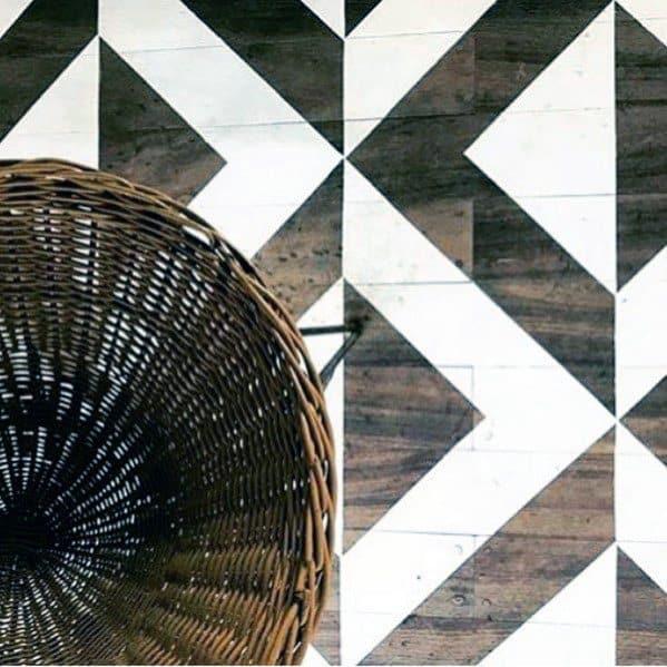 Unique Painted Floor