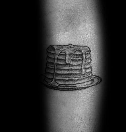 Unique Pancake Tattoos For Men
