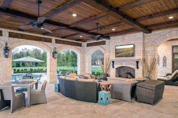 Unique Patio Ceiling Home Ideas