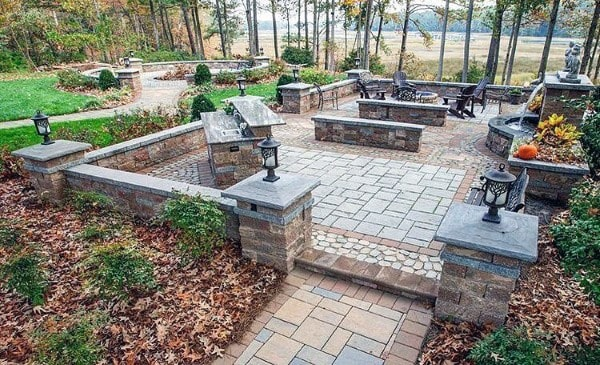 Top 60 Best Outdoor Patio Ideas - Backyard Lounge Designs
