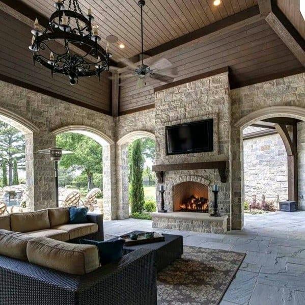 Unique Patio Roof Designs