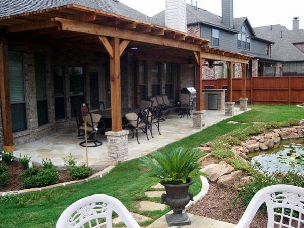 Unique Patio Roof Home Ideas