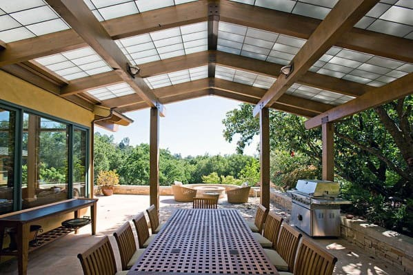 Unique Patio Roof