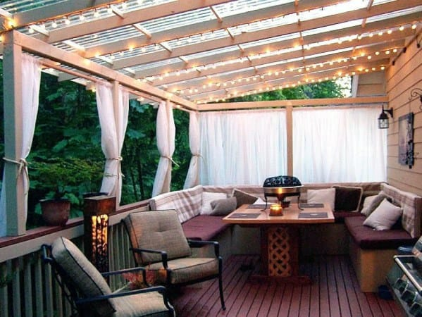 Unique Patio String Light Designs