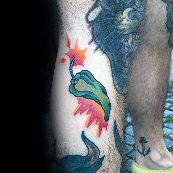 Unique Pepper Tattoos For Men