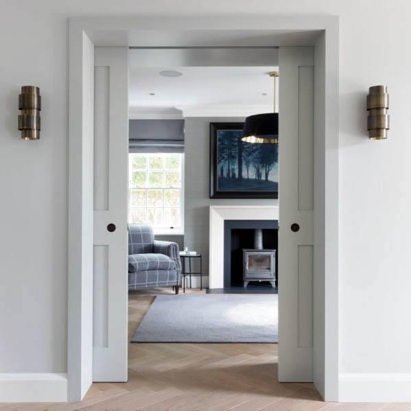 Unique Pocket Door Home Ideas