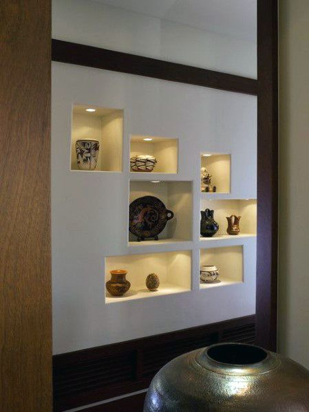 Unique Recessed Wall Niche