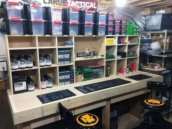 Unique Reloading Bench Home Ideas
