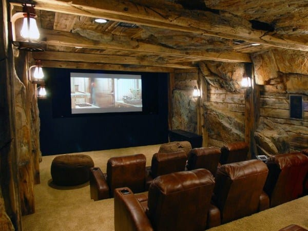 Unique Rustic Basement Ideas