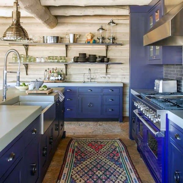 Unique Rustic Ceiling Log Beams Home Ideas Kitchen