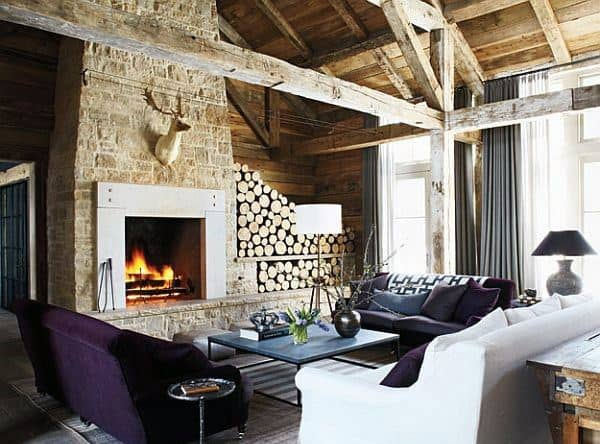 Unique Rustic Living Room Decor Ideas