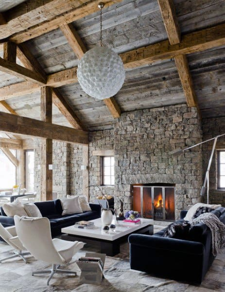 Unique Rustic Living Room Ideas