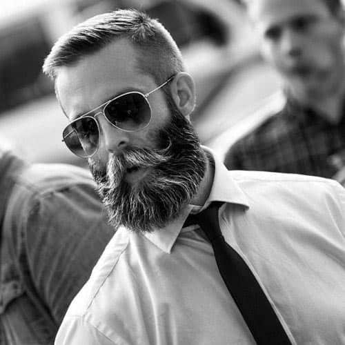 Unique Short Haircut Styles For Guys With Beards