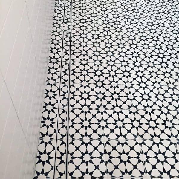 Unique Shower Floor Tile Designs