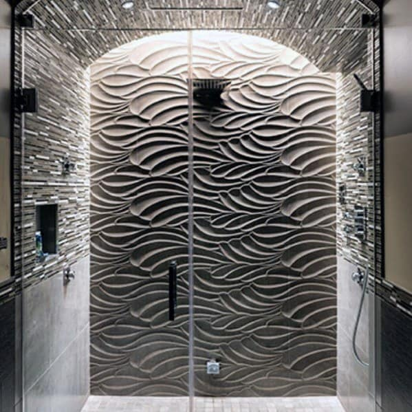 Unique Shower Lighting