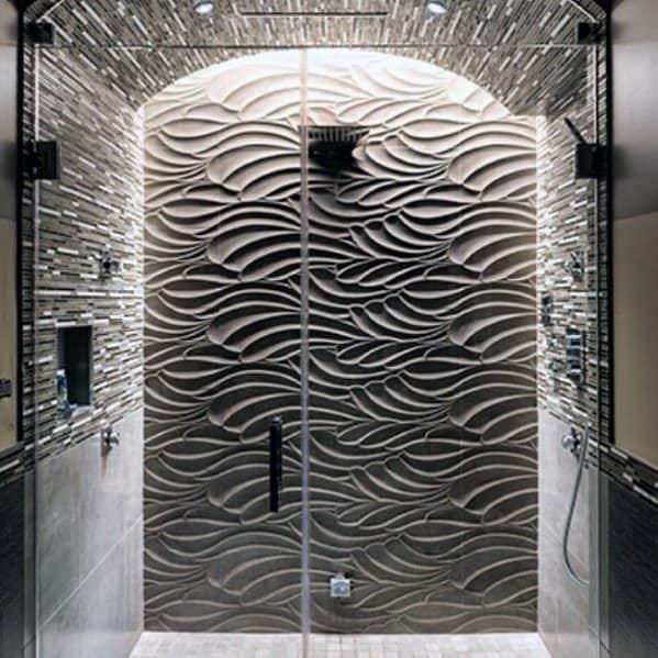 Unique Shower Lighting