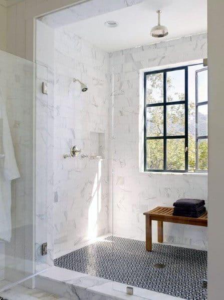 Unique Shower Window