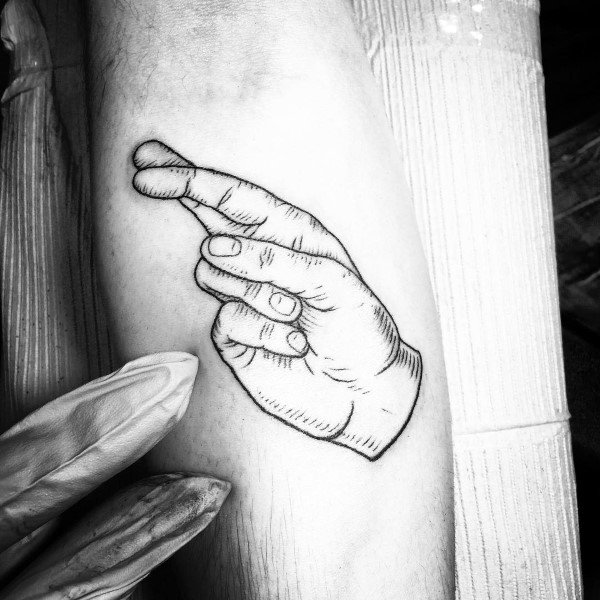 Unique Sign Language Tattoos For Men