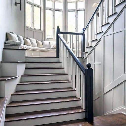 25 Stair Design Ideas For Your Home: Top 70 Best Stair Railing Ideas