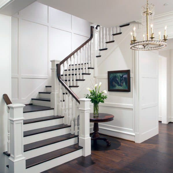 Unique Stair Trim Home Ideas
