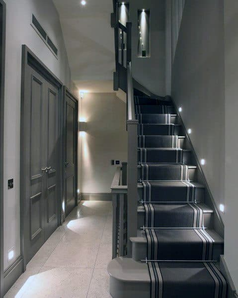 Unique Staircase Lighting