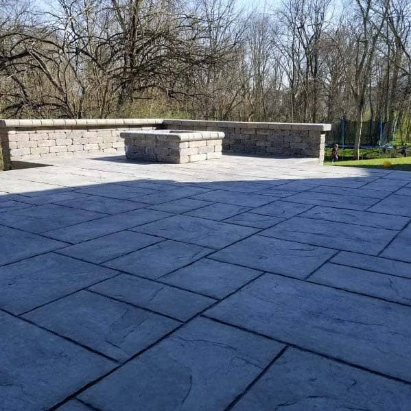 Unique Stamped Concrete Patio Designs