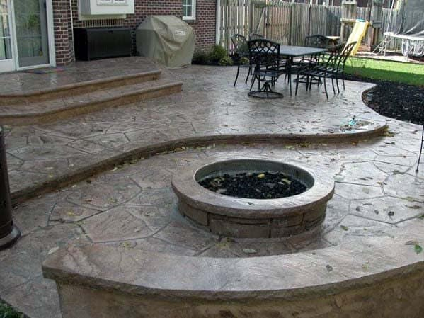Unique Stamped Concrete Patio Home Ideas