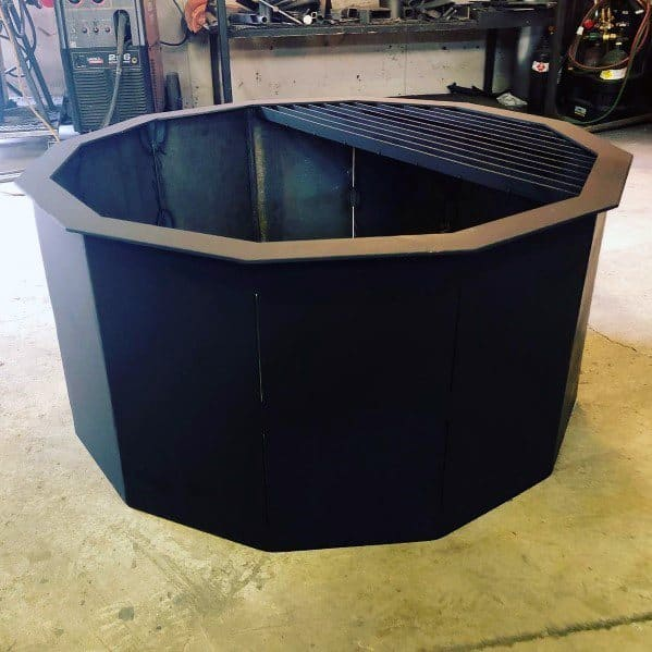 Unique Steel Fire Pits