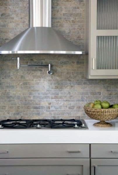 Pleasant Top 60 Best Kitchen Stone Backsplash Ideas Interior Designs Home Interior And Landscaping Ponolsignezvosmurscom