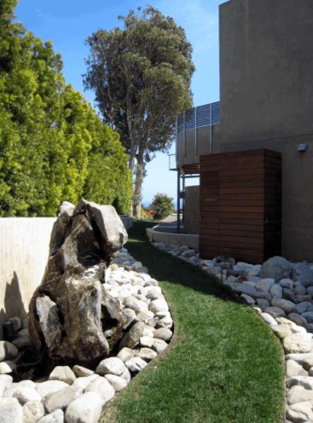 Unique Stone Edging Contemporary Landscaping Ideas