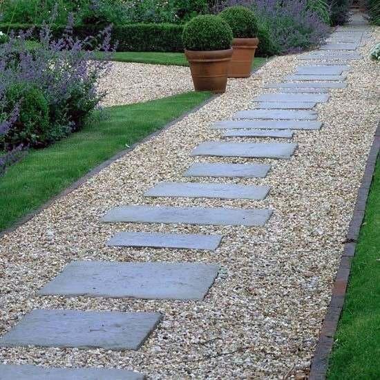 Unique Stone Walkway Home Ideas