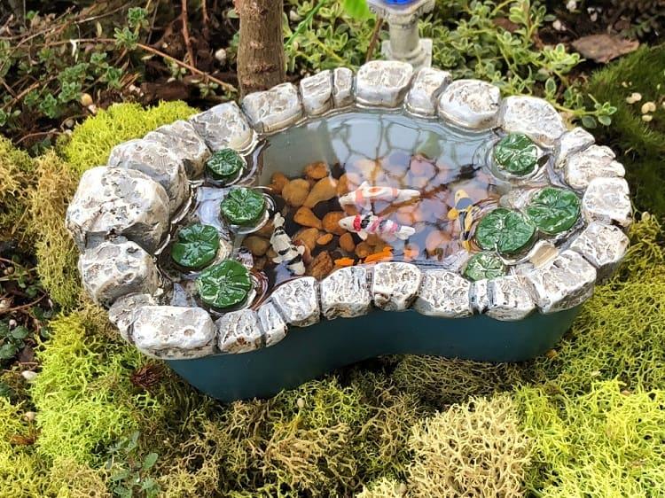 Unique Style Backyard Container Pond