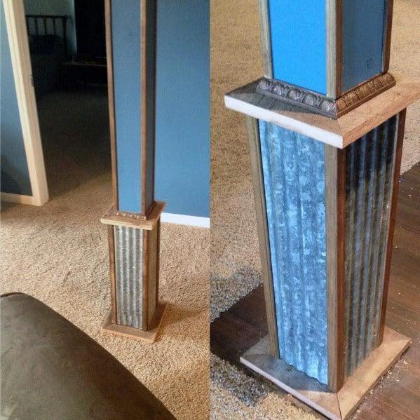 Top 50 Best Basement Pole Ideas Downstairs Column Cover Designs