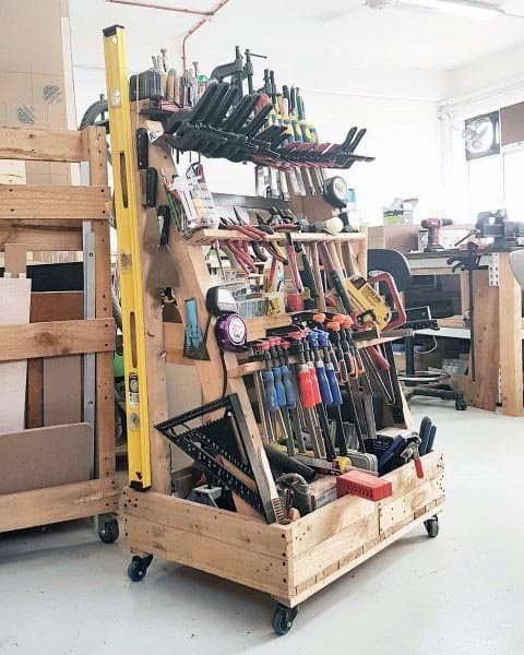 Unique Tool Storage Ideas