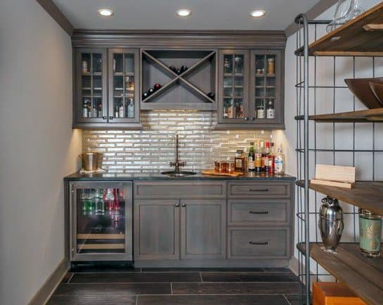 Unique Wet Bar Design Ideas