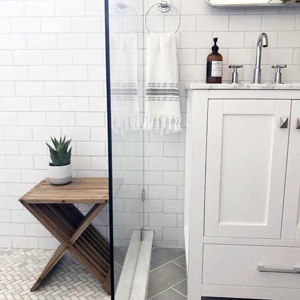 Unique White Bathroom Designs