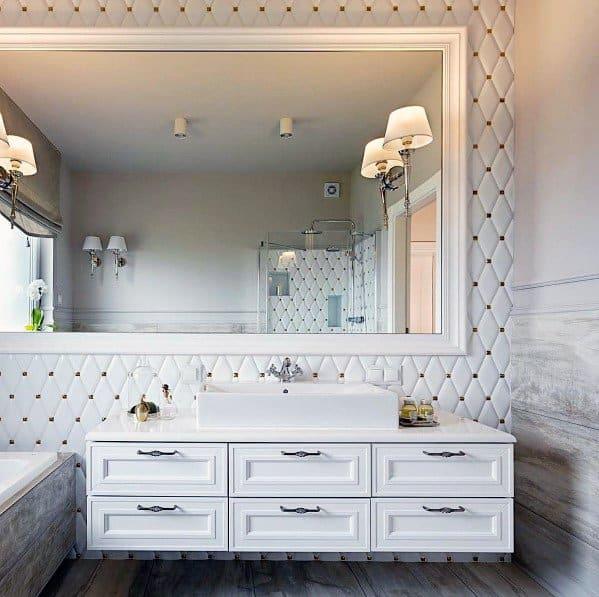 Unique White Bathrooms