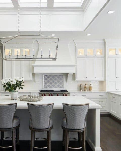 Unique White Kitchen Designs